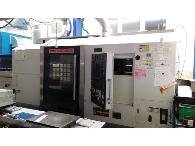 more images Lathe machine Mori Seiki NZ 1500 T2Y2